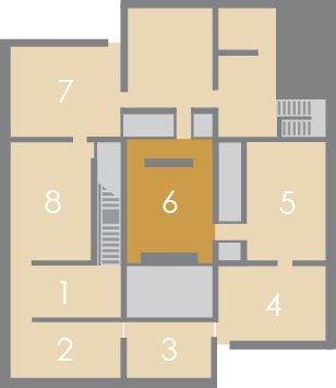 Map showing location of this gallery in the Museum